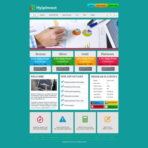 HYIP Design - HYIP script Online