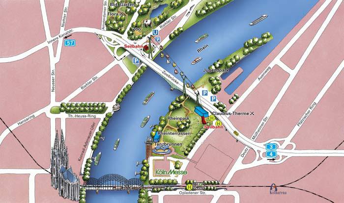 Köln mal anders - Eine Panorama-Rundfahrt auf dem Rhein ...