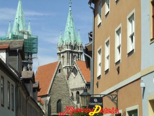 Blick zum Naumburger Dom