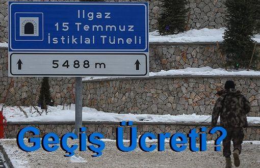 Ilgaz Dağı 15 Temmuz İstiklal Tüneli Geçiş Ücreti
