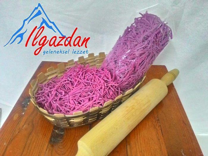 Yeni Sezon Sebzeli Erişte Makarna Çeşitleri - ılgazdan geleneksel lezzetler
