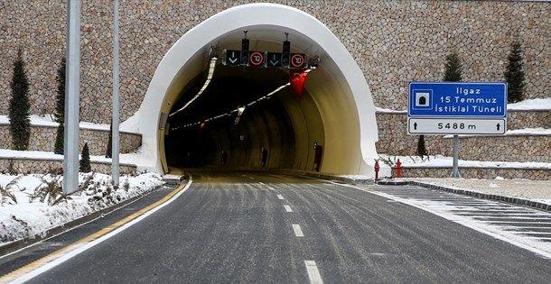 Ilgaz Tüneli Uzunluğu Kaç KM