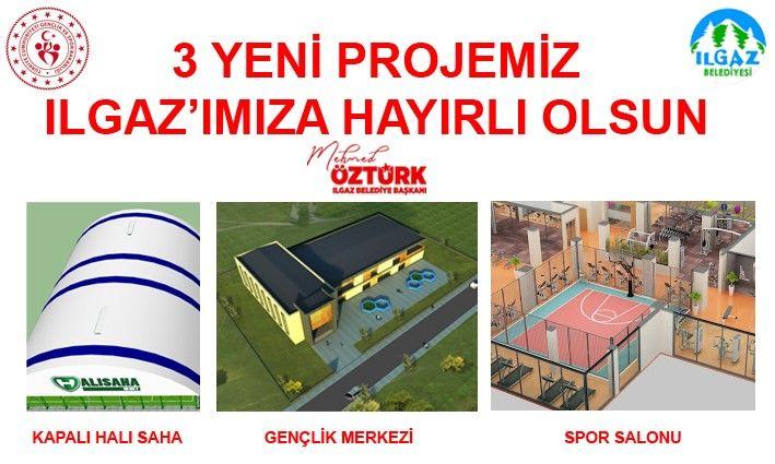 Ilgaz Belediyesinden 3 Yeni Proje