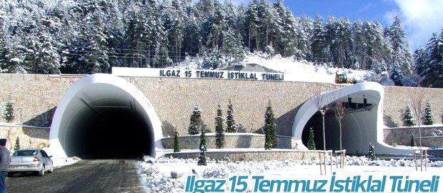 Başbakan Binali Yıldırım Ilgaz Tüneli Bize Sığınak Oldu