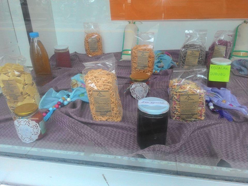 Ilgaz Geleneksel Lezzetler Çankırı Yöresel Ürünler Sergisi, Kozalak Şurubu, Erişte, Perişka, Doğal Alıç Sirkesi
