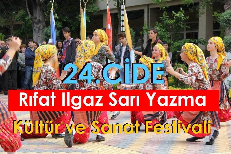 24.Cide Rıfat Ilgaz Sarı Yazma Kültür Ve Sanat Festivali 2019