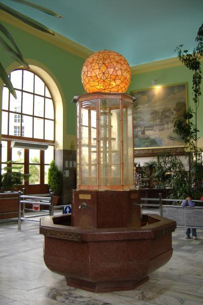 der Mineralbrunnen