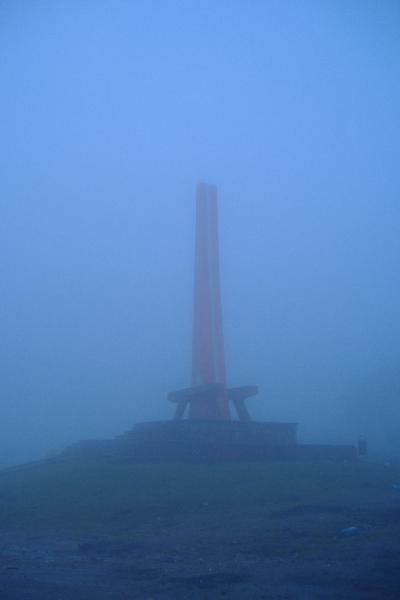 Pass-Denkmal, das an den letzten Tartaren-Angriff von 1717 erinnert