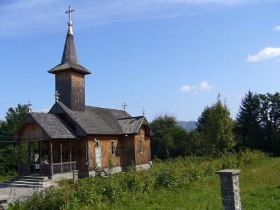 Klosterkirche in Dragomiresti
