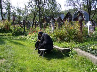 Ieud - Friedhof der rum.-orth. Kirche