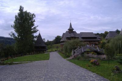 das Kloster-Ensemble in Barsana