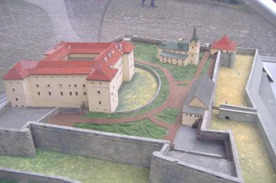 Modell Schloss Ushgorod