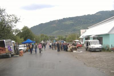 Markt in Krasna