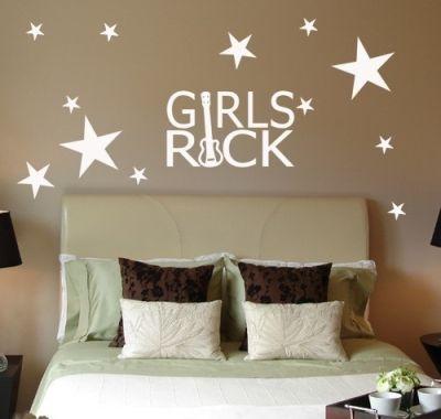 Fantasy deco vinilos decorativos cuarto de las chicas for Vinilos decorativos dormitorios juveniles