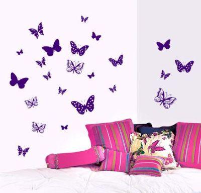 Fantasy deco vinilos decorativos mariposas - Disenos de vinilos ...