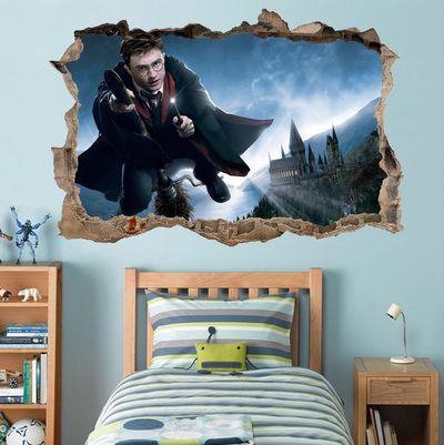 fantasy deco vinilos decorativos harry potter. Black Bedroom Furniture Sets. Home Design Ideas
