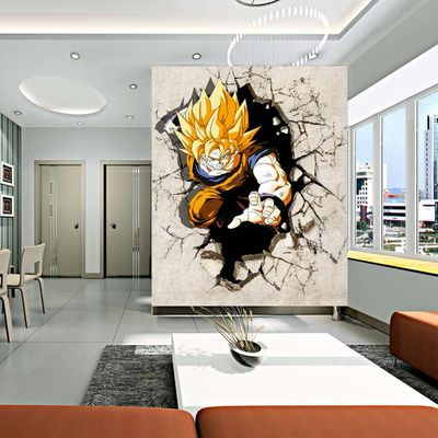 Fantasy deco vinilos decorativos dragon ball z for Vinilos decorativos 3d