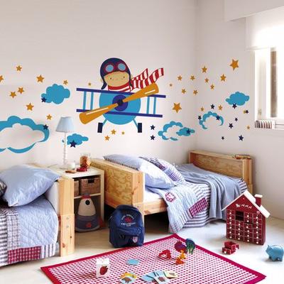 Fantasy deco vinilos decorativos cuarto del bebe for Murales decorativos para bebes