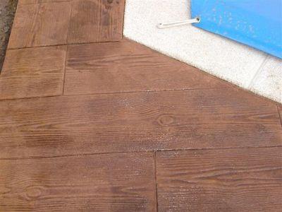Hormigon impreso madera - Hormigon impreso madera ...
