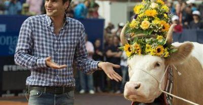 Federer debutará contra Brands en Gstaad