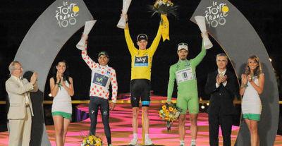 Froome Se Corona en el Tour de France