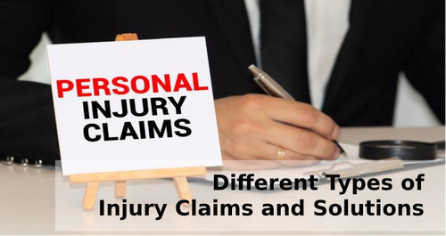 Different Types of Injury Claims and Solutions