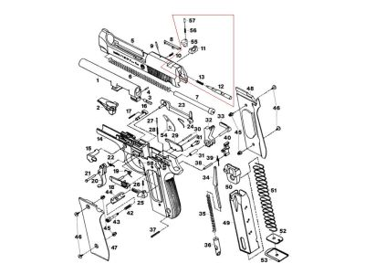 Taurus PT 92 additionally P1145 2004 nissan pathfinder together with P 2686 Skunk2 Tuner Series Camshafts likewise Acura Wiring Diagram together with Rsx Oem Rear Bumper. on tl parts