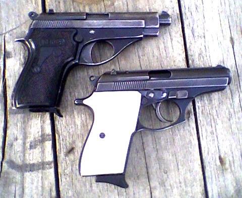 Pistola de martillo calibre 22
