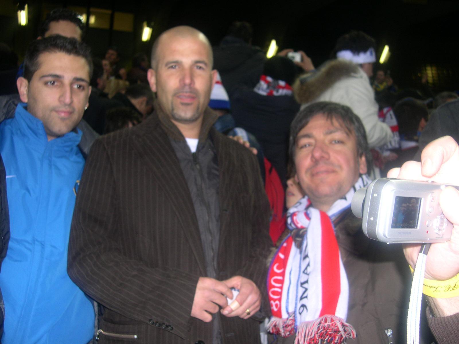 Gigi Di Biagio con il presidente