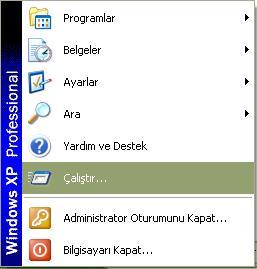 hızlı, kapatılması, windows, xp'nin