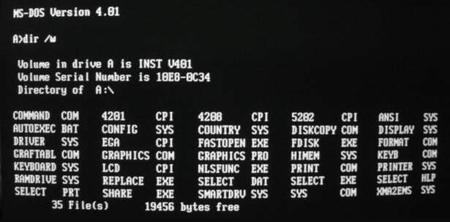 DOS, PC