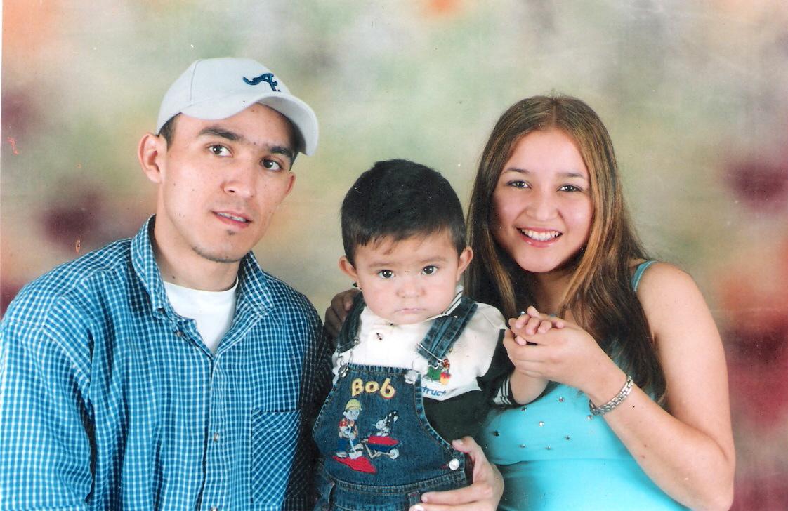 yo; y mis dos hermanitos