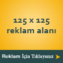 125x125 Reklam Alanı