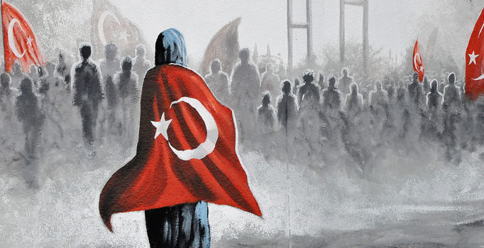 15 Temmuz Darbeye Hayır Banneri