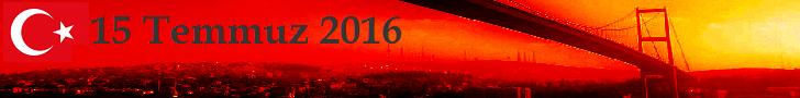 15 Temmuz İstanbul 728x90 Banner