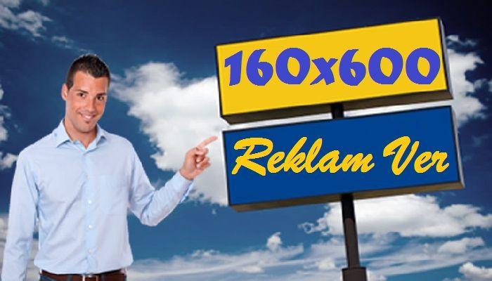 160x600 Reklam Ver Banerleri