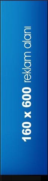 160x600 Baner Reklam Alanı