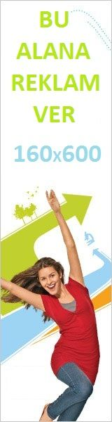 160x600 öğrenci Baner Reklam Alanı