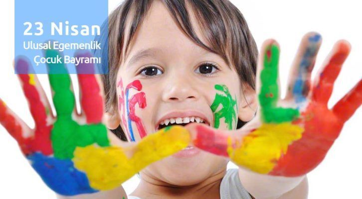 23 Nisan Kutlu Olsun Resimli Reklamsız Tebrik Kartları