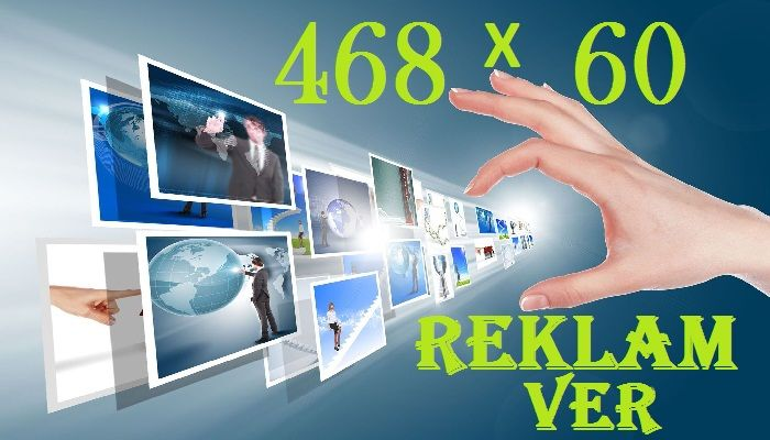468x60 Reklam Ver Banerleri