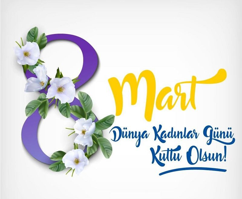 8 Mart Dünya Kadınlar Günü Kutlu Olsun Resimli Mesajları