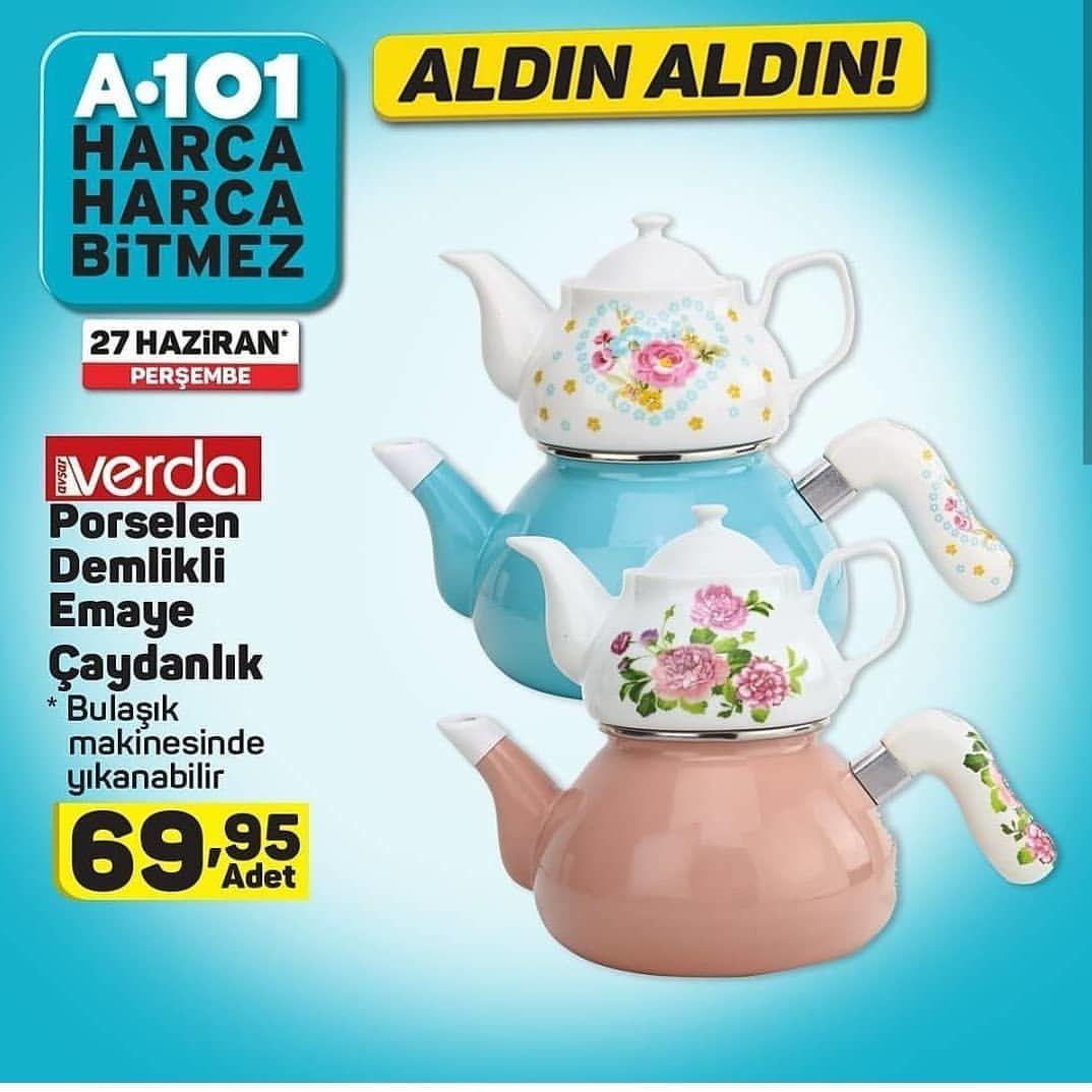 Verda Çaydanlık Takımını A101 Aktüel Ürünler