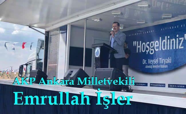 AKP Ankara Milletvekili Emrullah İşler Karacaören Spor Tesisi Açılış Konuşması