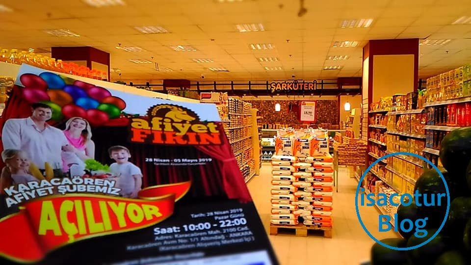 Karacaören Toki Afiyet Fırın Market Açıldı