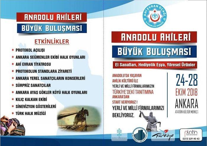 Anadolu Ahiler Büyük Buluşması Etkinlikler