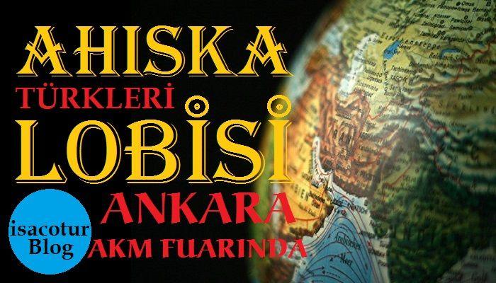 Ahıska Türkleri Lobisi Ankara Akm Fuarında