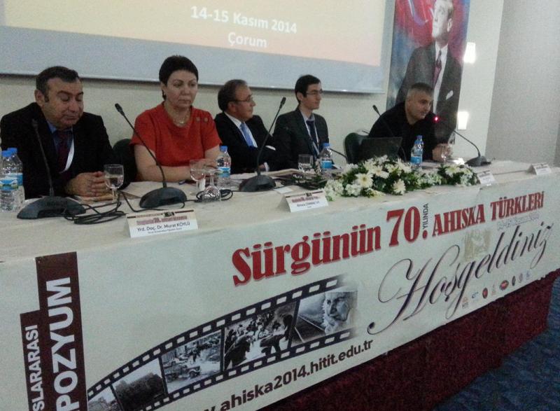 Sürgünün 70. Yılında Ahıska Türkleri Sempozyumu