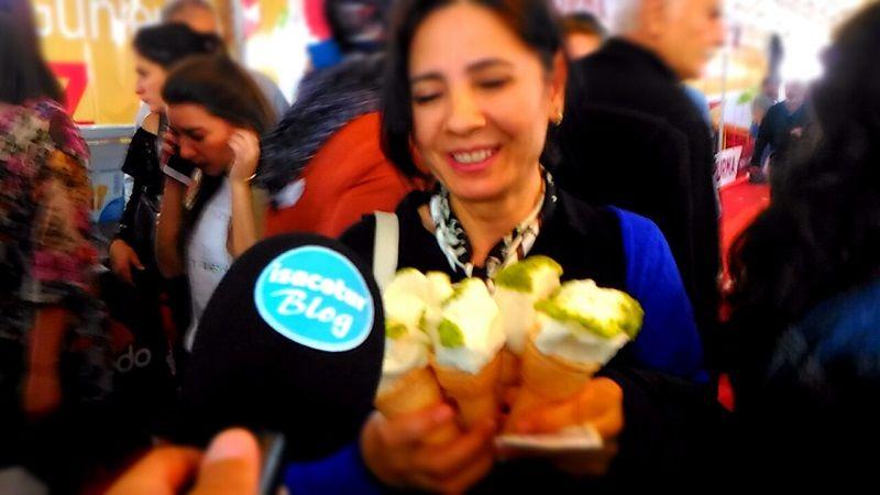 Akdo Dondurma Ankara Akm Fuarında