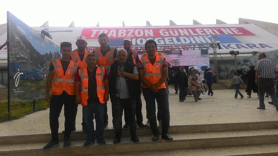 """Akm Fuarı Temizlik Firması """"Su Temizlik"""" Trabzon Günlerinde"""