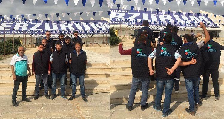 """Akm Fuarı Temizlik Firması """"Su Temizlik"""" Erzurum Günlerinde"""